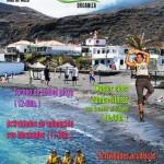 Für sportlich Interessierte: Action am Strand von Salamera.