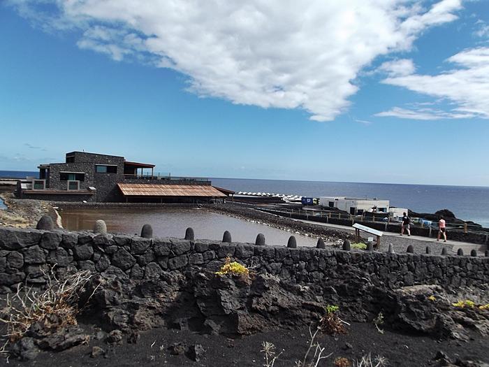 Der Arbeitsplatz von Juan Carlos: Das Salinenrestaurant Jardín de la Sal im Süden von La Palma am Leuchtturm von Fuencaliente gelegen. Foto: La Palma 24