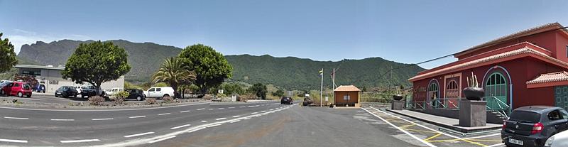 Das neue Kulturzentrum an der Hauptstraße zum Tunnel: Das Las Piedras de Taburiente liegt direkt gegenüber dem Besucherzentrum von El Paso. Foto: La Palma 24