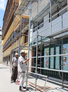 Men at work: An den gesetzlichen Feiertagen ruht die Arbeit. Foto: La Palma 24