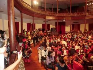 Musikschul-Konzerte im Teatro Chico: richtig gute Stimmung. Foto: Stadt