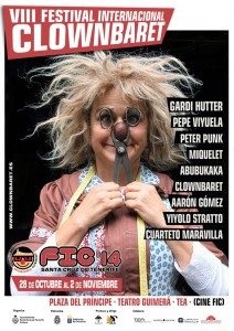 Jetzt auf La Palma: Clownbaret!