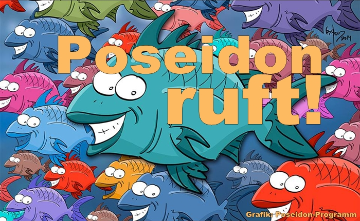 Poseidon-Programm-Grafik-Titel