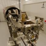 HARPS-N im TNG: Einer der beiden besten Spektrographen der Welt. Sein Zwilling ist HARPS-S im Chile-Observatorium.
