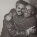 Amigos: Luis Morera y César Manrique. Foto: Luis