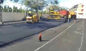 Asphaltwerk in Fuencaliente geschlossen: Baustelle Tazacorte steht ebenfalls still. Foto: Cabildo