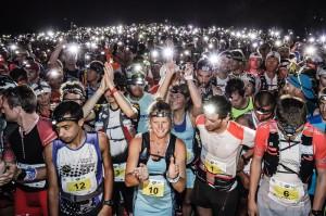 Transvulcania-Ultramarathon: 2014 waren 2.000 Trailrunner am Start, für 2015 wurde die Quote auf 1.800 Läufer reduziert. Pressefoto Transvulcania La Palma