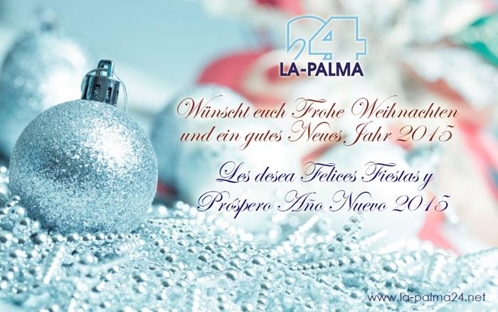 Weihnachtsgrüße Für Gäste.La Palma 24 Journal Weihnachtsgrüße 2014