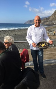 Carlos Déniz: Küchenchef im Kiosko Los Guirres auf La Palma.
