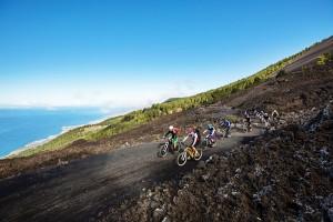 """MTB auf La Palma und Umweltschutz: """"Kein Radler, der auf sich hält, verlässt heute mehr die Wege"""". Foto: Kirsten Sörries"""