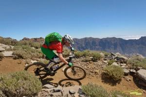 MTB auf La Palma: Trend steigend, aber noch lange keine Radler-Schwemme. Foto: Kirsten-Sörries
