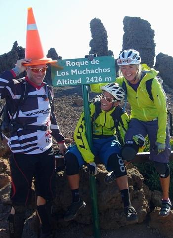 MTB auf La Palma: Traum-Trais, Abenteuer - und natürlich viel Spaß. Foto: Bike Station Puerto Naos