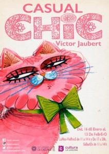 Casual Chic: Gerade zu Ende gegangene Ausstellung von Victor auf Teneriffa.