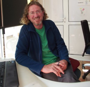 Roger Frey: Fluglehrer und Wetterexperte. Foto: La Palma 24
