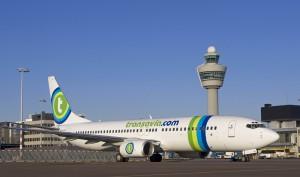 Transavia: bringt die ständig steigende Anzahl der Inselgäste aus Holland nach SPC. Pressefoto Transavia
