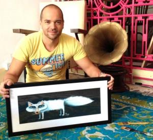 Victor ist happy: kann von seinen Illustrationen leben und nimmt auch Aufträge an. Foto: Onthedraw