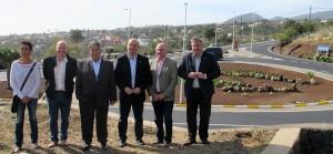 Neue Molino-Kreuzung: offiziell eingeweiht. Foto: Cabildo