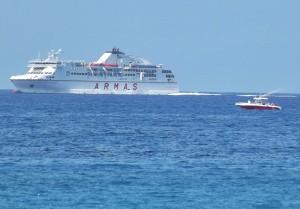Von Teneriffa nach La Palma: Auch die Armas-Fähre bedient diese Strecke. Foto: La Palma 24