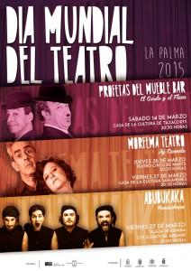 Zum Welttag des Theaters: Dreimal Bühnenkunst auf La Palma.