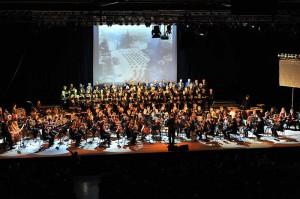 Findet nur alle drei Jahre statt: International Classic Camp in Ravensburg - hier eine Aufnahme vom Abschlusskonzert 2012. Foto: Musikschule Ravensburg