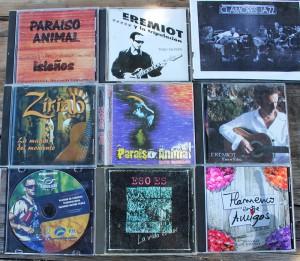 Eremiot-CDs: mal solo, mal mit verschiedenen Bands.