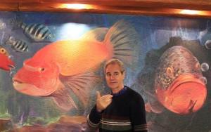 Luis Morera: lädt alle Interessenten jetzt mittwochs zu seinem Maltag ins Las Piedras in El Paso ein. Foto: La Palma 24