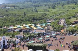 Restaurant mitten im Freizeitpark von San Antonio del Monte zu verpachten: Hier findet auch der traditionelle Viehmarkt statt. Foto: Roberto Barreto