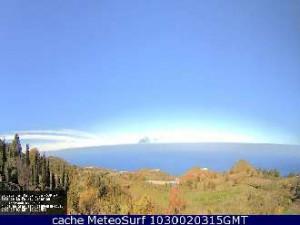 Webcam in Puntagorda: Durchblick im Nordwesten.