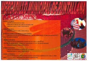 Puntallana: Programm zum Käsemonat - darufklicken, dann kann man es lesen.