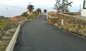 El Jesús: Straßenbelag erneuert. Foto: Cabildo