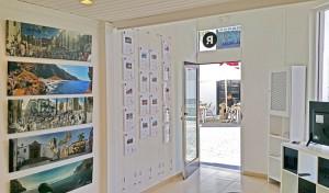 Das neue Büro von La Palma 24 und der Immobilienfirma Palminvest: Calle