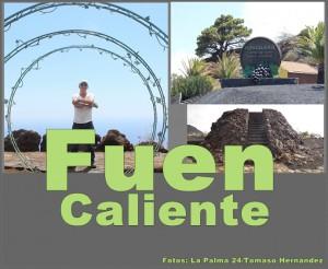 Tomasos jüngste Projekte: zwei Aussichtspunkte und ein neuer Ortseingang in Fuencaliente.