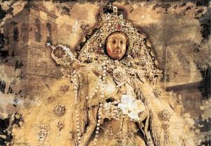 Virgen de las Nieves: Alle fünf Jahre wird in Santa Cruz das Fest der Jungfrau vom Schnee gefeiert.