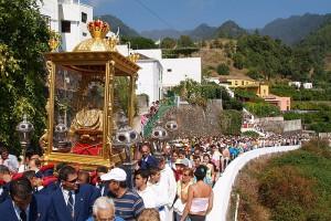 Die eigentliche Bajada der Virgen de las Nieves: