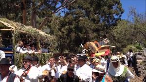Die Bajada der Virgen del Pino: fröhlich und bunt. Foto: El Paso