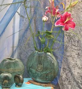 Kunsthandwerk auf La Palma: Es muss nicht immer ein Stickdeckchen sein... Foto: La Palma 24/Alke Block Keramik