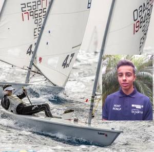 Pablo Fortuny: räumt Pokale in der Laser 4.7.-Klasse ab und kam bei der WM in Holland