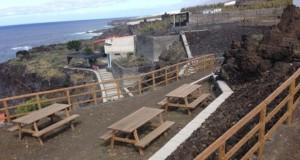 Erster Grillplatz am Meer auf La Palma: Playa Punta Large im Südwesten. Foto: Cabildo