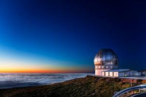 Das Gran Telescopio de Canarias auf dem Roque de los Muchachos: Es gibt Führungen. Pressefoto IAC