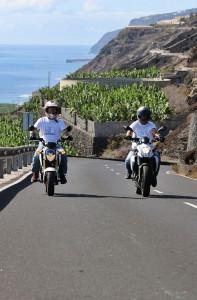 Ausfahrt mit unseren Motorrädern