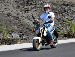 Die Honda MSX 125: klein und trendy! Foto: La Palma 24