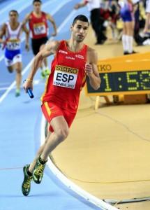 Samuel García: läuft für La Palma, die Kanaren und Spanien. Foto: Federación Canaria de Atletismo.
