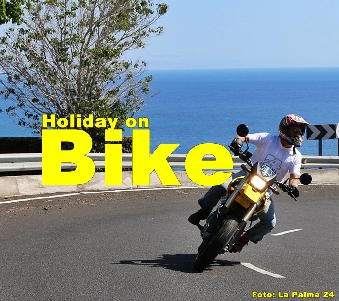 La Palma Motorrad mieten