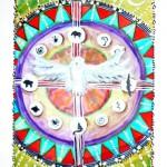 Crystel: erfand Indianer-Motive für Tarotkarten.