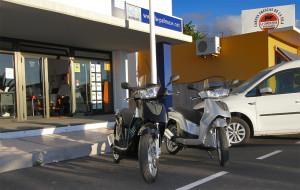 Motorroller La Palma