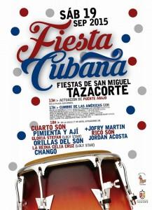 Am Samstag: Fiesta Cubana in Tazacorte.