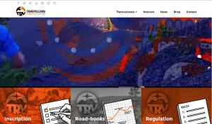 Homepage der Transvulcania: geht zum 1. Oktober 2015 aktualisiert an den Start.