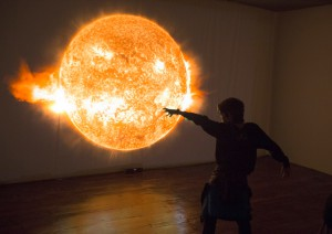 Luces del Universo: IAC-Ausstellung zum 30. Geburtstag. Pressefoto IAC