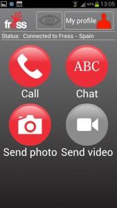 FRESS-App: Infos etwa zum Unfall sogar mit Foto oder Video ins Koordinationszentrum senden.