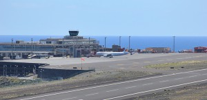 Aeropuerto de Santa Cruz de La Palma (SPC): AENA se escribe fuera del trabajo. Foto: La Palma 24